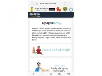 Amazon Prime Family saves money