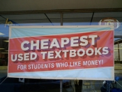 Cheaper textbooks