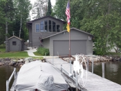 Retirement lake house