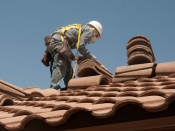Repair roof leaks and tiles before winter