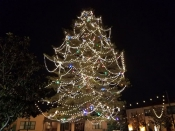 Christmas Tree at the Marketplace